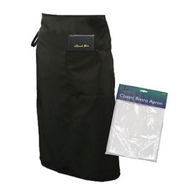 "UPDATE INTERNATIONAL Update Black Bistro Apron 28""x33"""