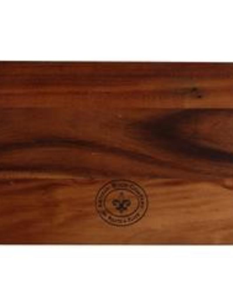 "UNIVERSAL ENTERPRISES, INC. Palate and Plate 16 x 8"" Rectangular wood Board"