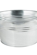 AMERICAN METALCRAFT, INC AMC Galvanized Oval Bucket beer metal silver