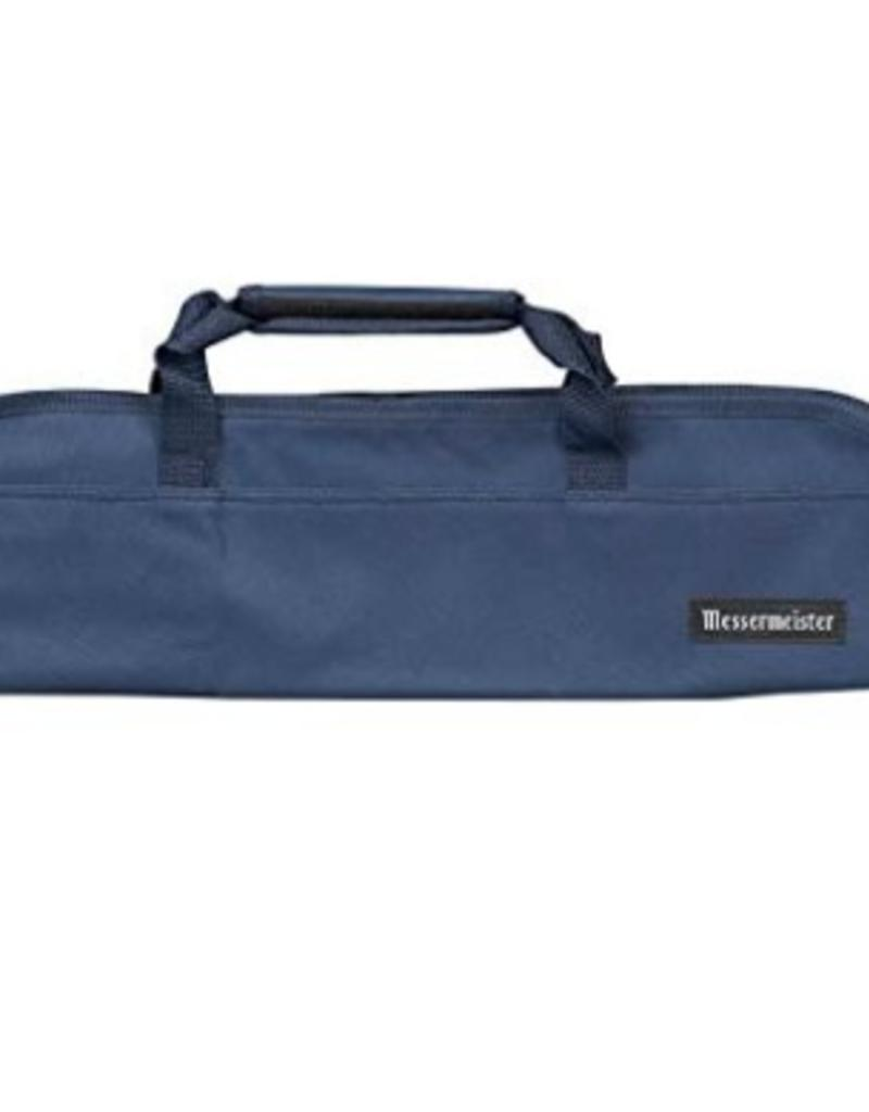MESSERMEISTER MESSERMEISTER Padded Knife Bag Navy 5 pocket