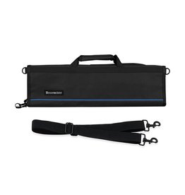 MESSERMEISTER MESSERMEISTER Padded Knife Roll, 8 Pocket, Black
