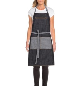 Chef Works Chef Works Manhattan Bib Apron (Denim)