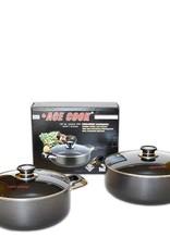 Ace Kitchenware Craft Inc ACE 4 QT ALUMINUM POT NON STICK