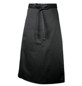 Chef Works Chef Works Bistro Apron Black 65% Poly/35% Cotton