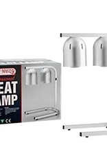 Chef Master Chef Master Heating Lamp model HL-2C 250 Watts Each Lamp