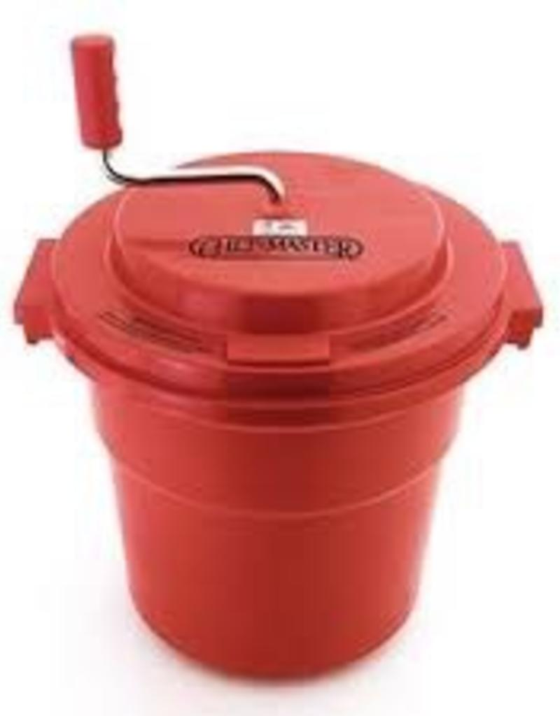 Chef Master Chef Master 5 gal Commercial Salad spinner  Dryer- with a brake to extend the life of the gears