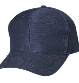 CAMEO TRADING CAMEO NAVY Baseball Pro Style Twill Cap Dark Blue