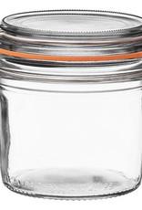 Down to Earth Dist. Le Parfait terrine glass Jar 350 gram 12 oz.