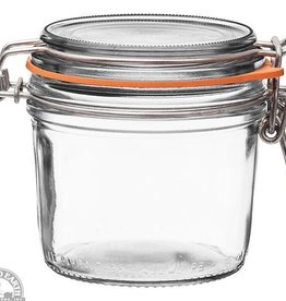 Down to Earth Dist. Le Parfait terrine glass Jar 350 gram 12 oz.