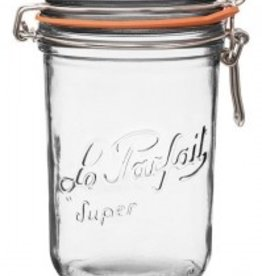 Down to Earth Dist. Le Parfait Terrine Glass Jar 1000G 36 oz.