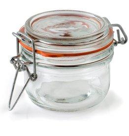 ANCHOR HOCKING Anchor 5.41 Oz Mini Heremes Jar clamp jar