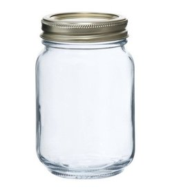 ANCHOR HOCKING Anchor Glass  16 oz. Mason/Canning Jar 1 Pint