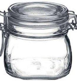 BORMIOLI ROCCO GLASS Bormioli 17.5 oz Clear Fido Top Jar