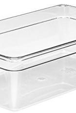 "CAMBRO MANUFACT. COMPANY Cambro Full Size Food Pan 1/1x6"" Clear, 20.6qt Capacity"