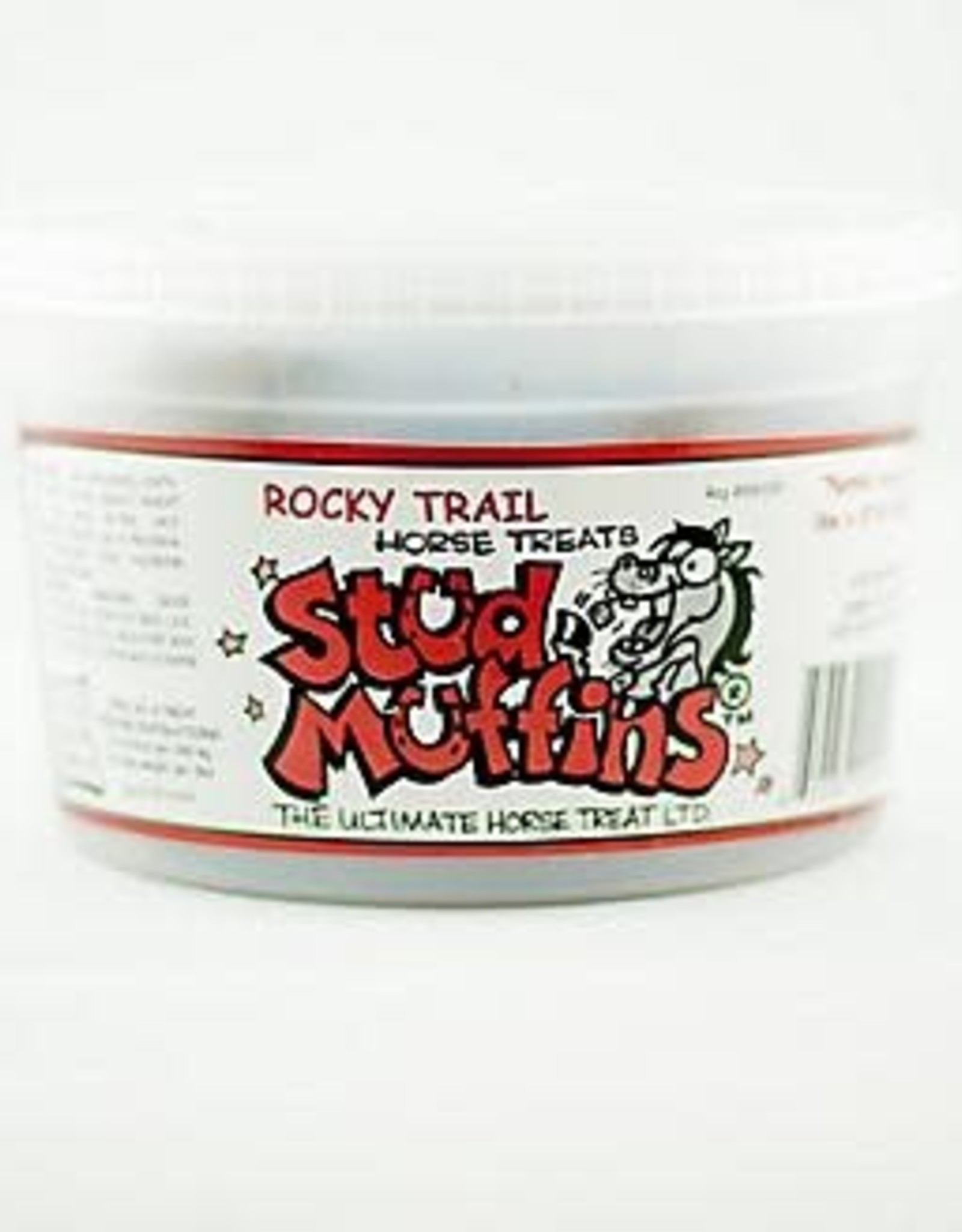 STUD MUFFINS HORSE TREATS ROCKY TRAIL 20 OZ