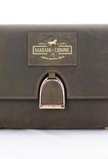 OAKBARK & CHROME SHOULDER BAG