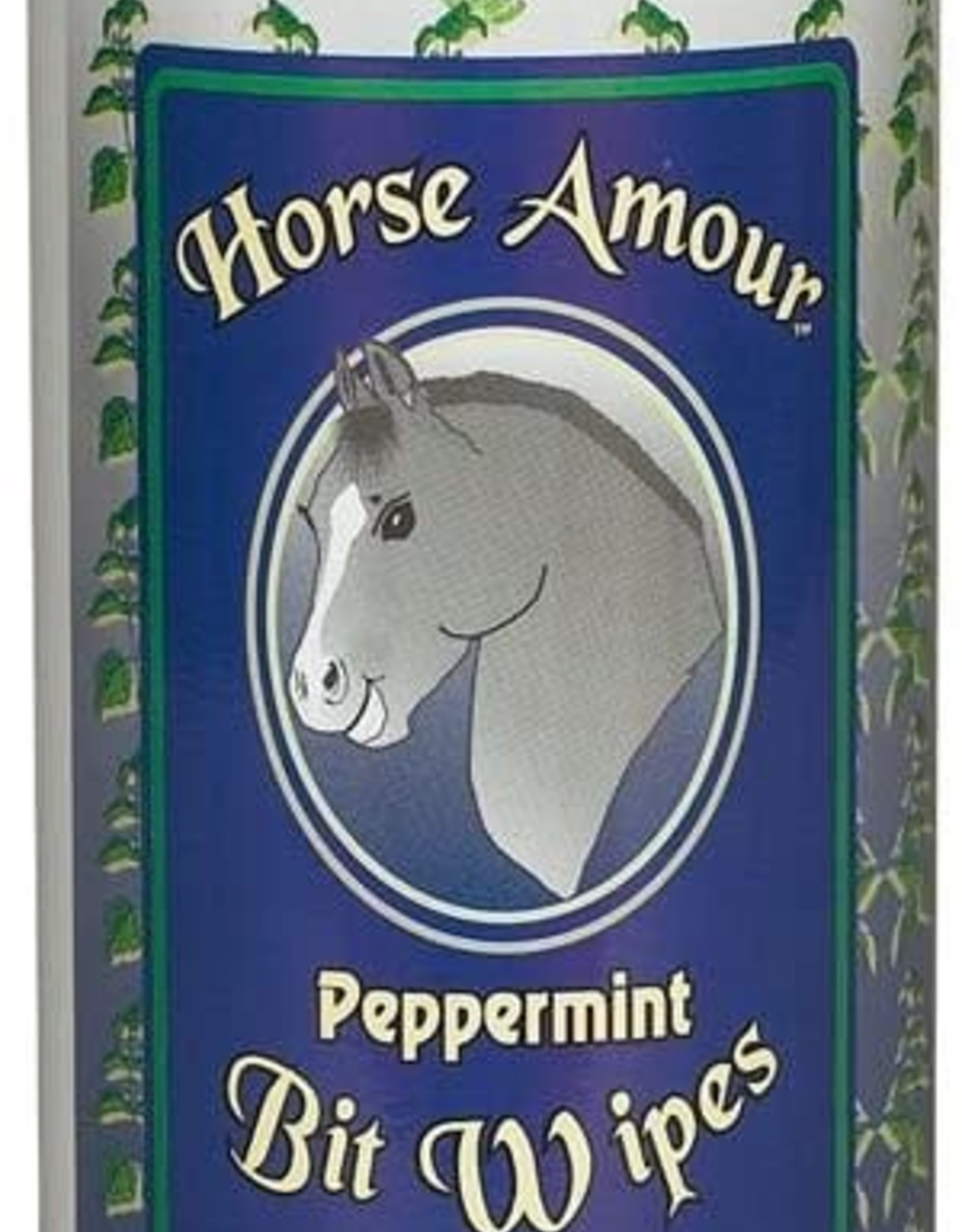 HORSE AMOUR BIT WIPES - PEPPERMINT