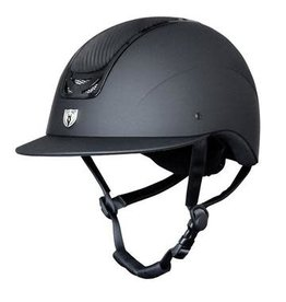 TIPPERARY ROYAL HELMET WIDE BRIM (CARBON LEATHER TOP)