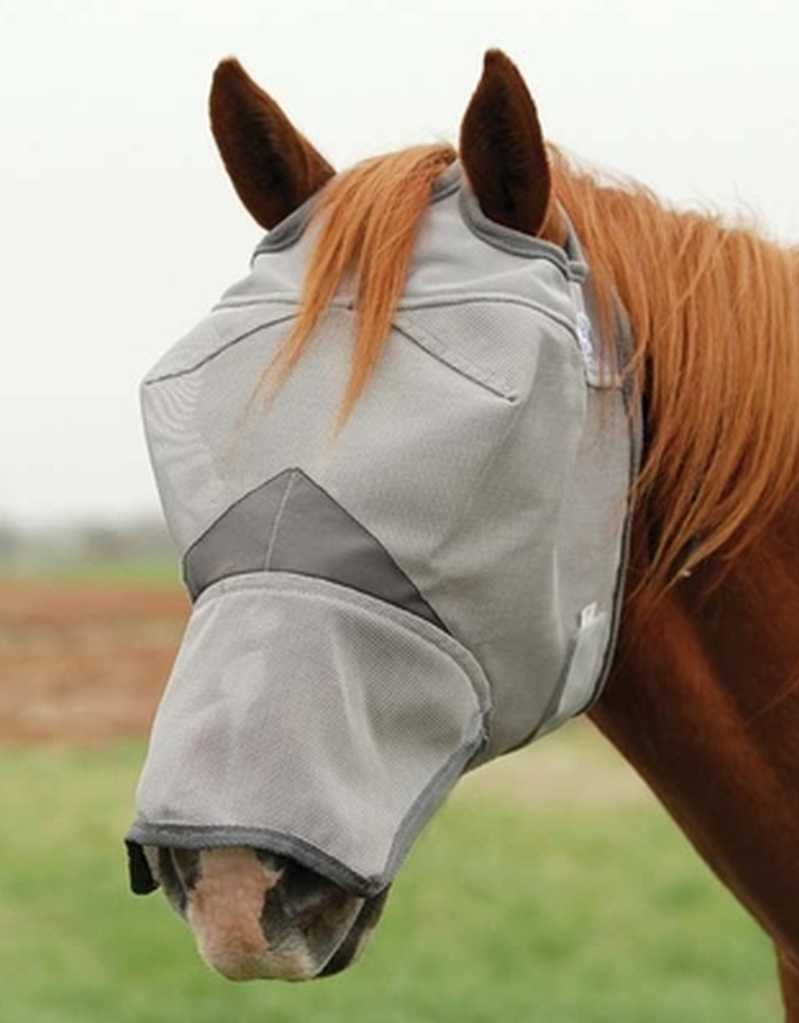 CASHEL CRUSADER FLY MASK LONG NOSE
