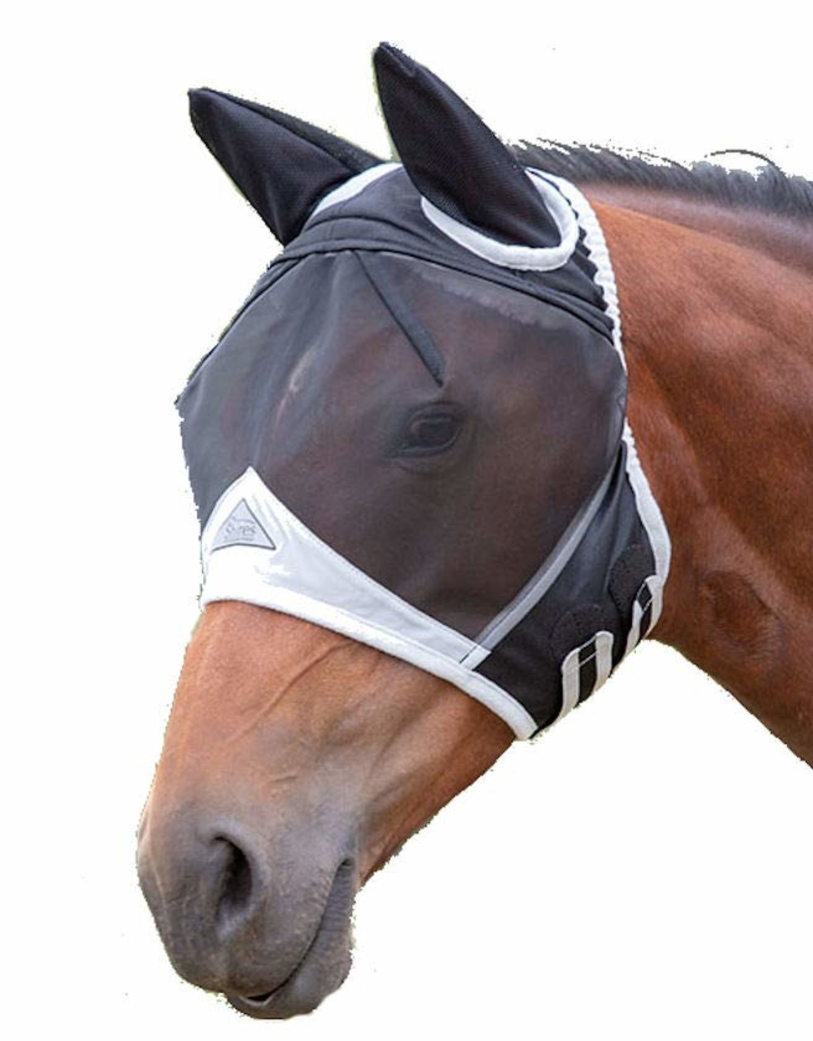 SHIRES FINE MESH FLYMASK WITH EARS