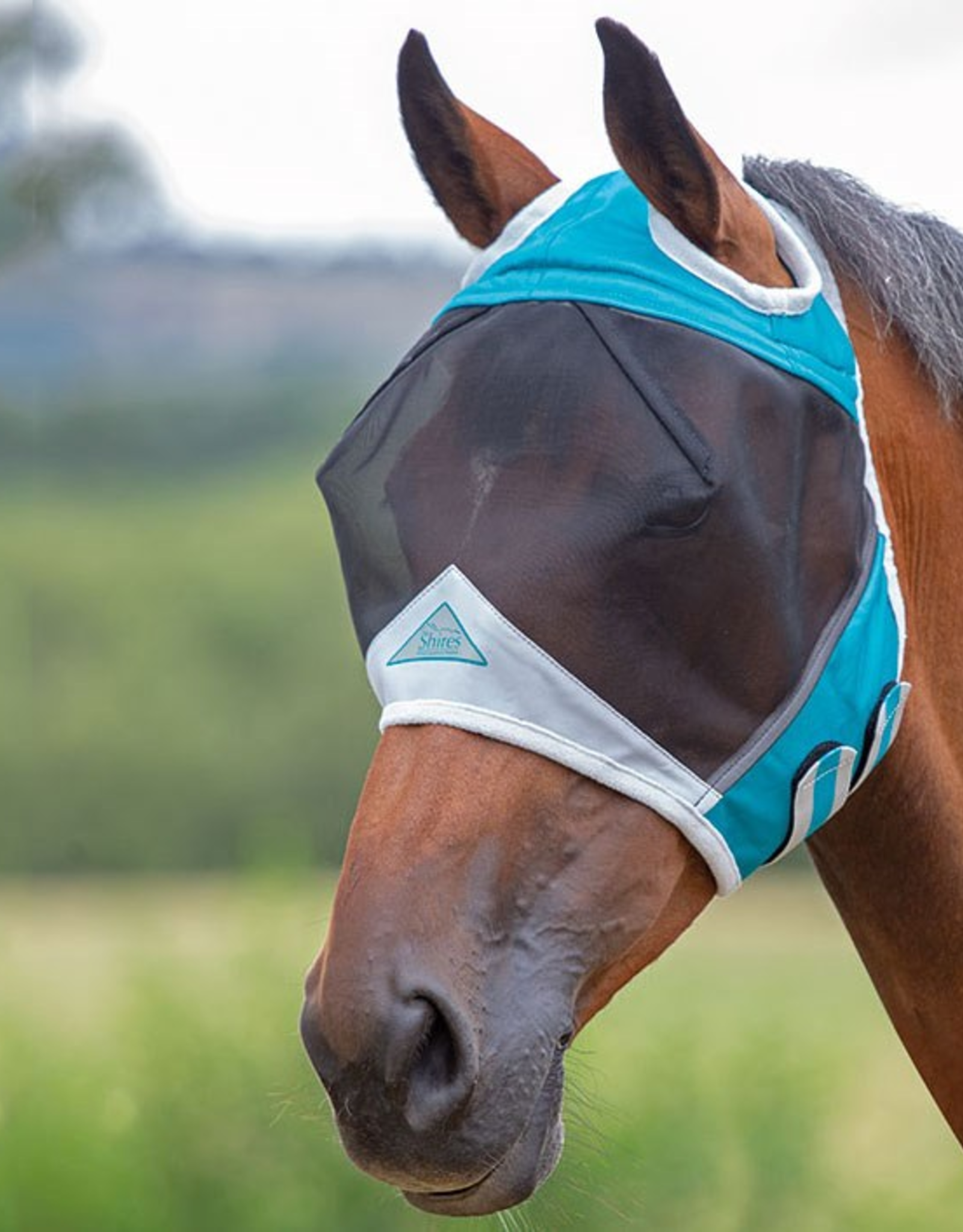 SHIRES FINE MESH FLY FASK WITH EAR HOLE