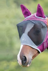 SHIRES DELUXE FLYMASK WITH EARS