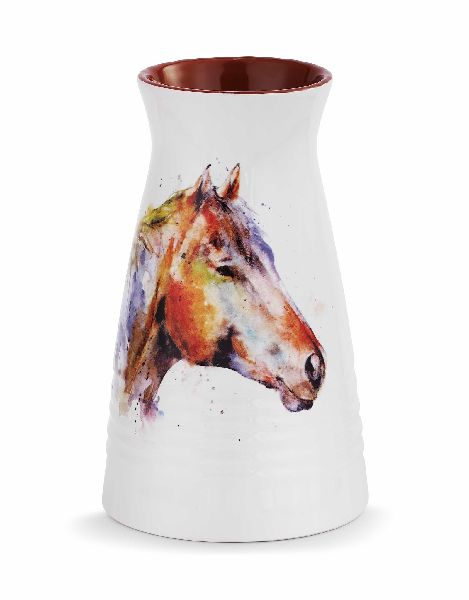 GOOD LOOKIN' HORSE VASE