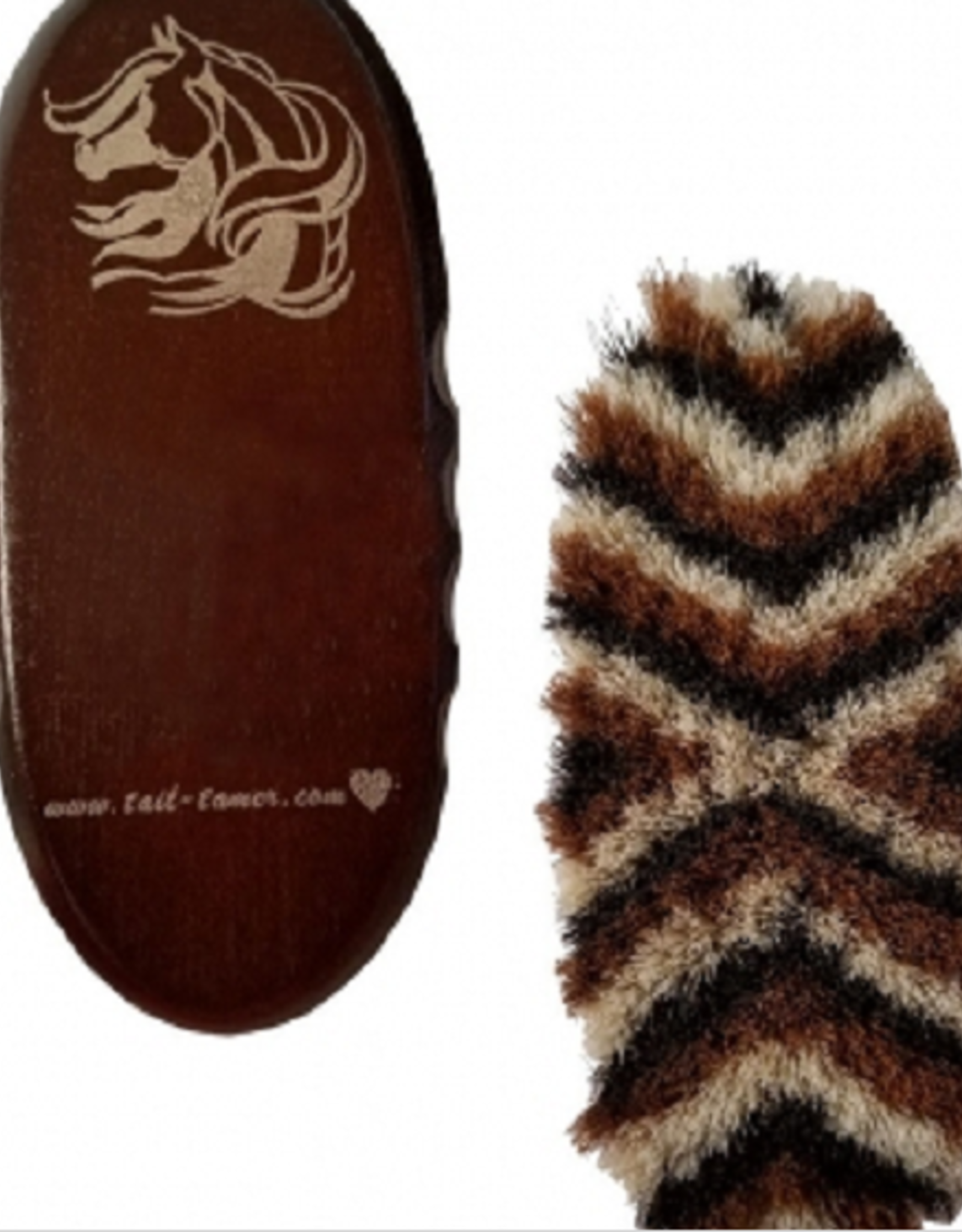 TAIL TAMER SMALL OVAL HORSEHAIR BRUSH