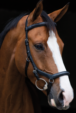 RAMBO MICKLAM DELUXE BRIDLE WITH REINS ENGLISH LEATHER