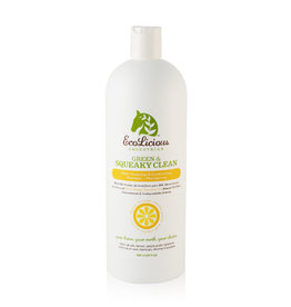 EcoLicious GREEN & SQUEAKY CLEAN SHAMPOO 946 ML