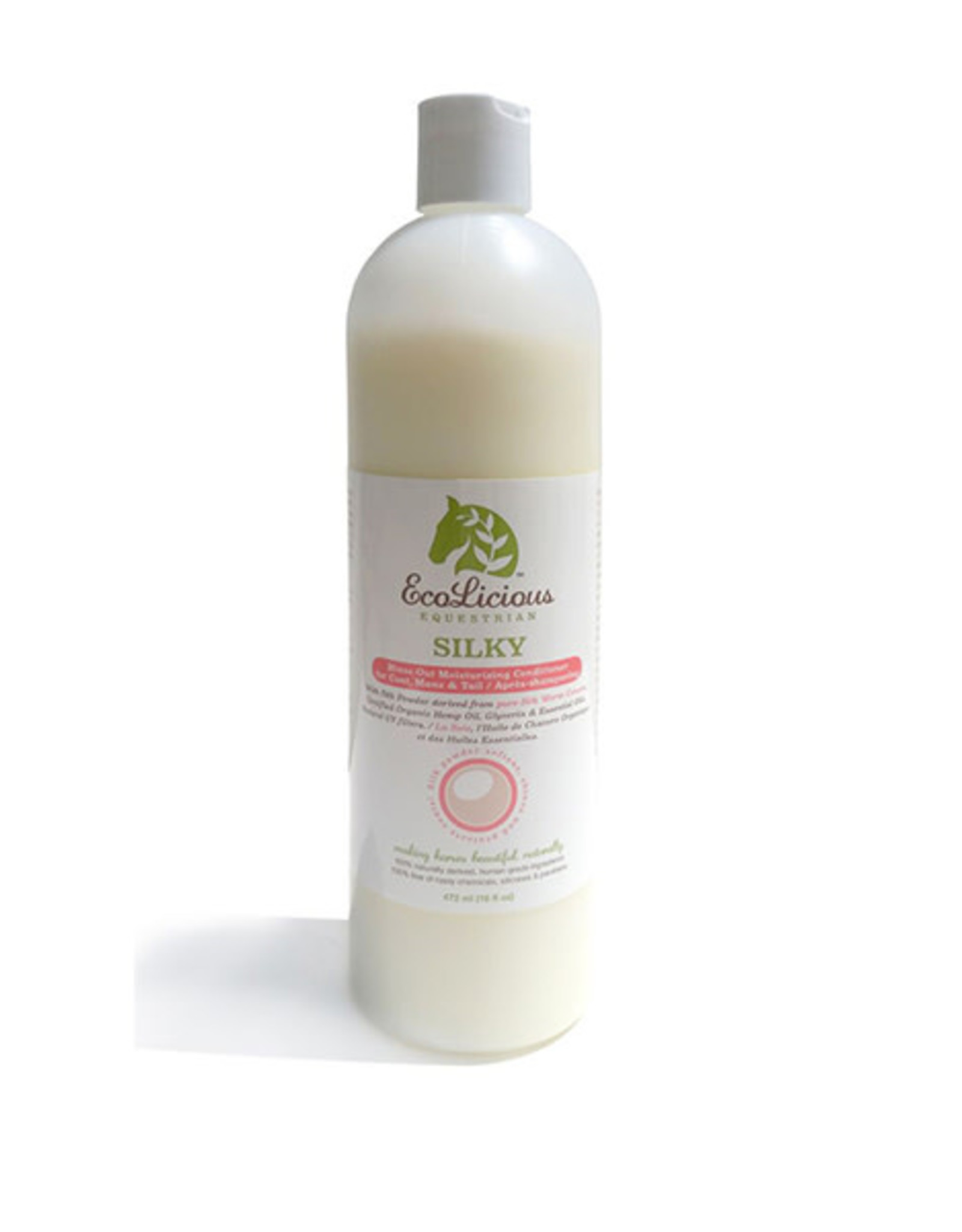 EcoLicious SILKY MOISTURIZING RINSE OUT CONTITIONER 472 ML