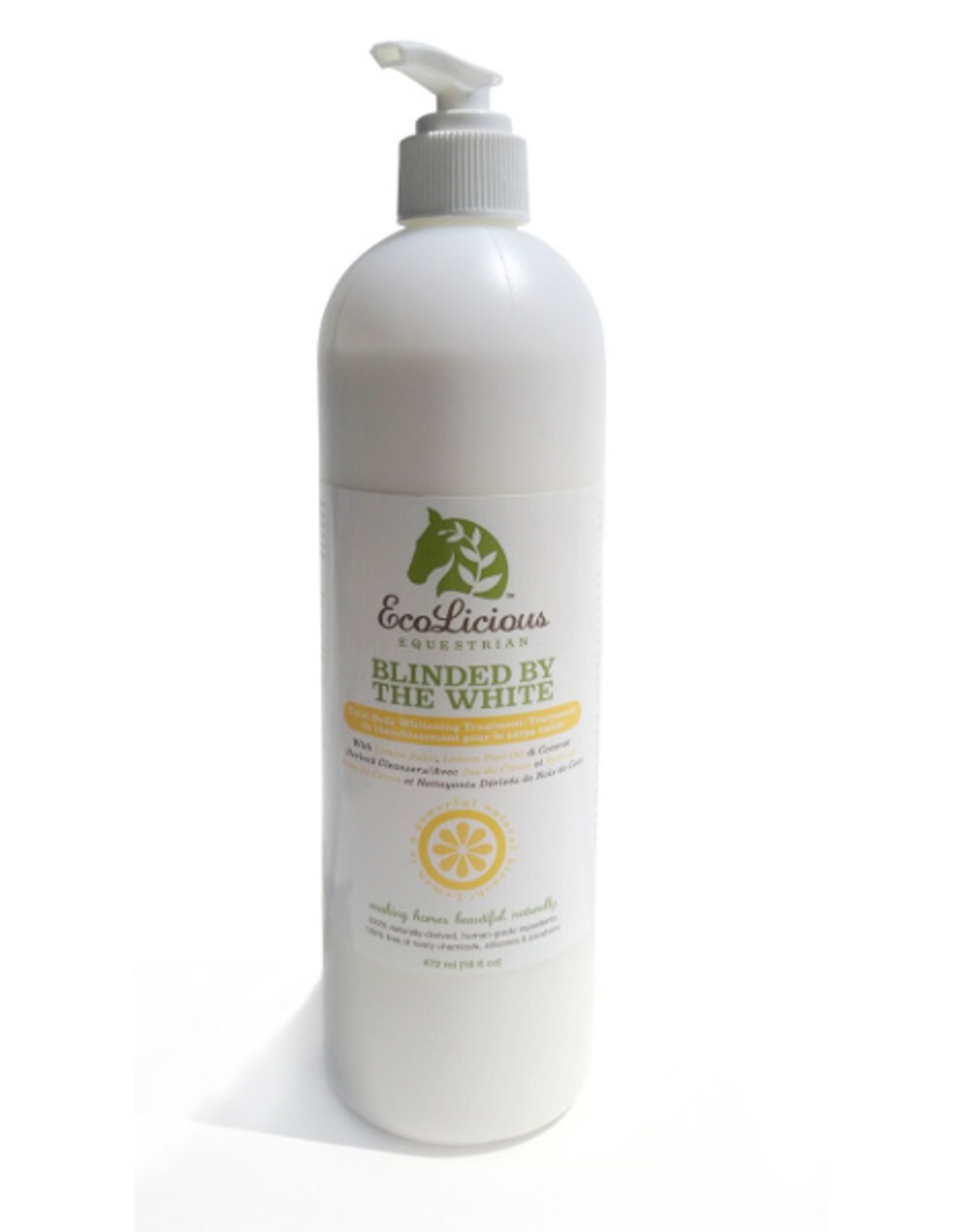 EcoLicious BLINDED BY THE WHITE 472 ML