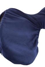 PREMIERE FLEECE DRESSAGE SADDLE COVER - BLUE