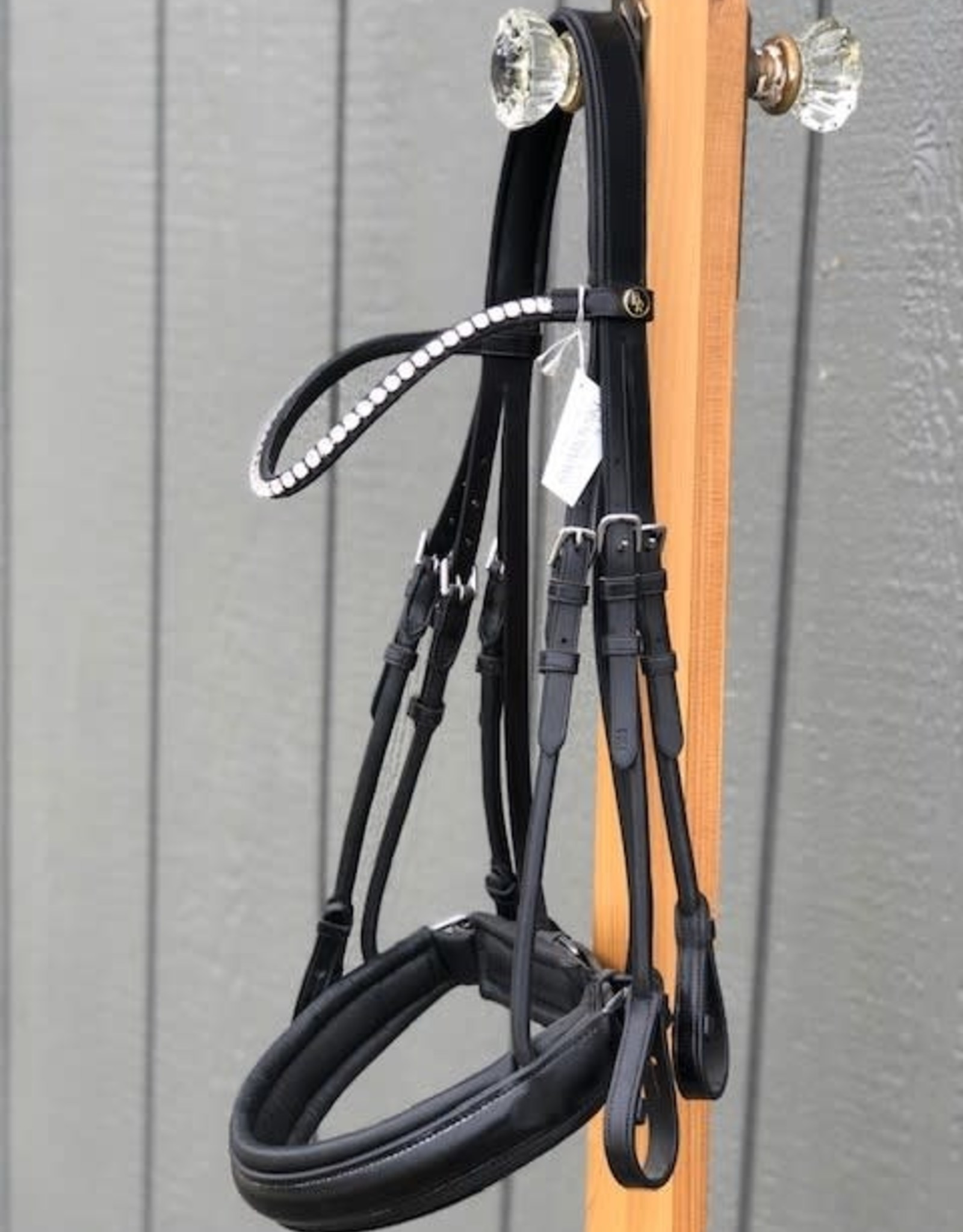 BR SHEFFIELD WEYMOUTH BRIDLE BLACK /  FULL SIZE