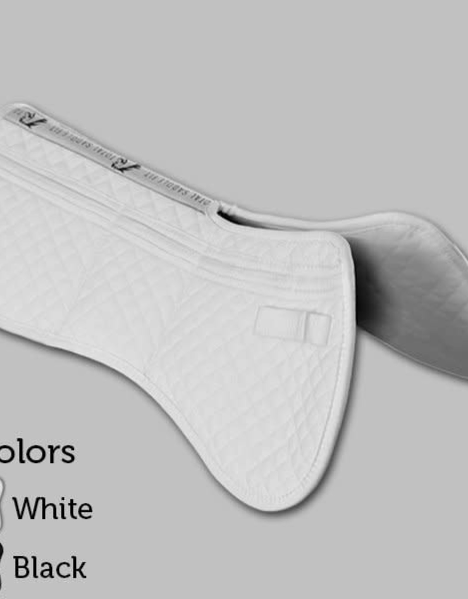 TOTAL SADDLE FIT Six Point Saddle Pad – Cotton Half Pad w/ Wither Freedom™
