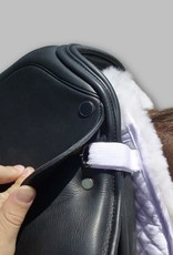 TOTAL SADDLE FIT Six Point Saddle Pad – Sheepskin Half Pad w/ Wither Freedom™