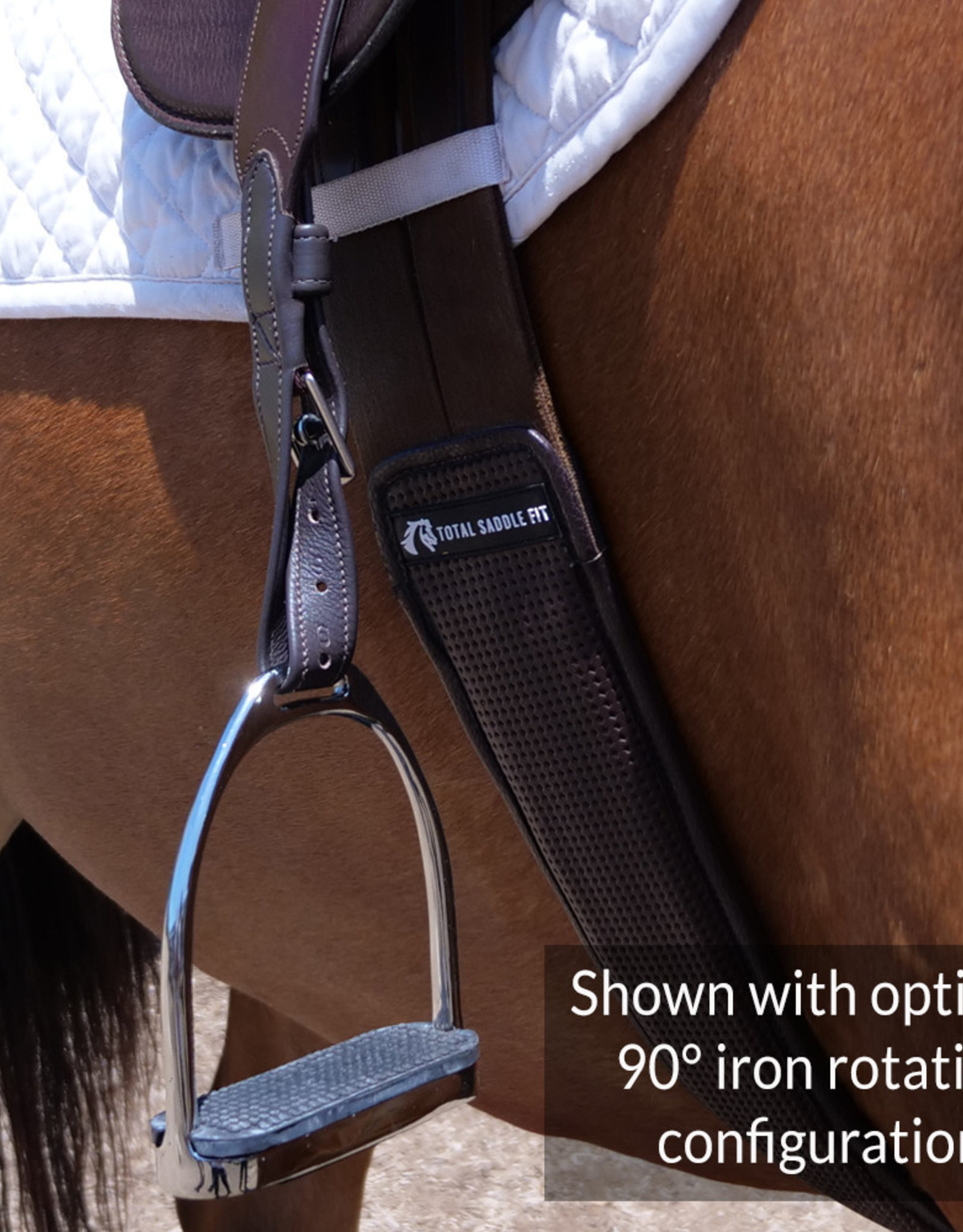 TOTAL SADDLE FIT SLIM Stability Stirrup Leathers™