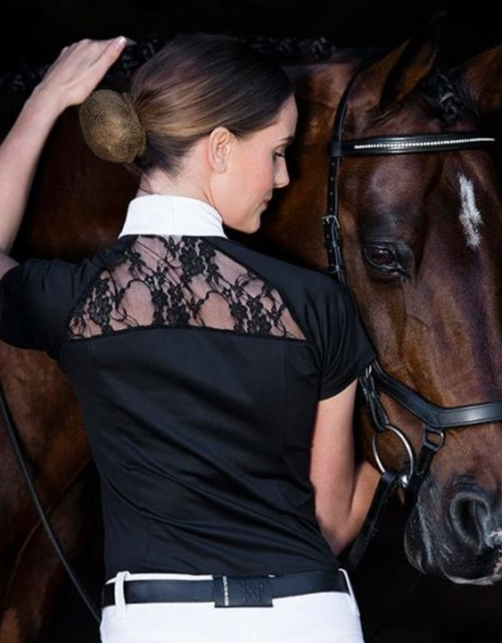 HORSEWARE IRELAND SARA JERSEY COMPETITION TOP S/S