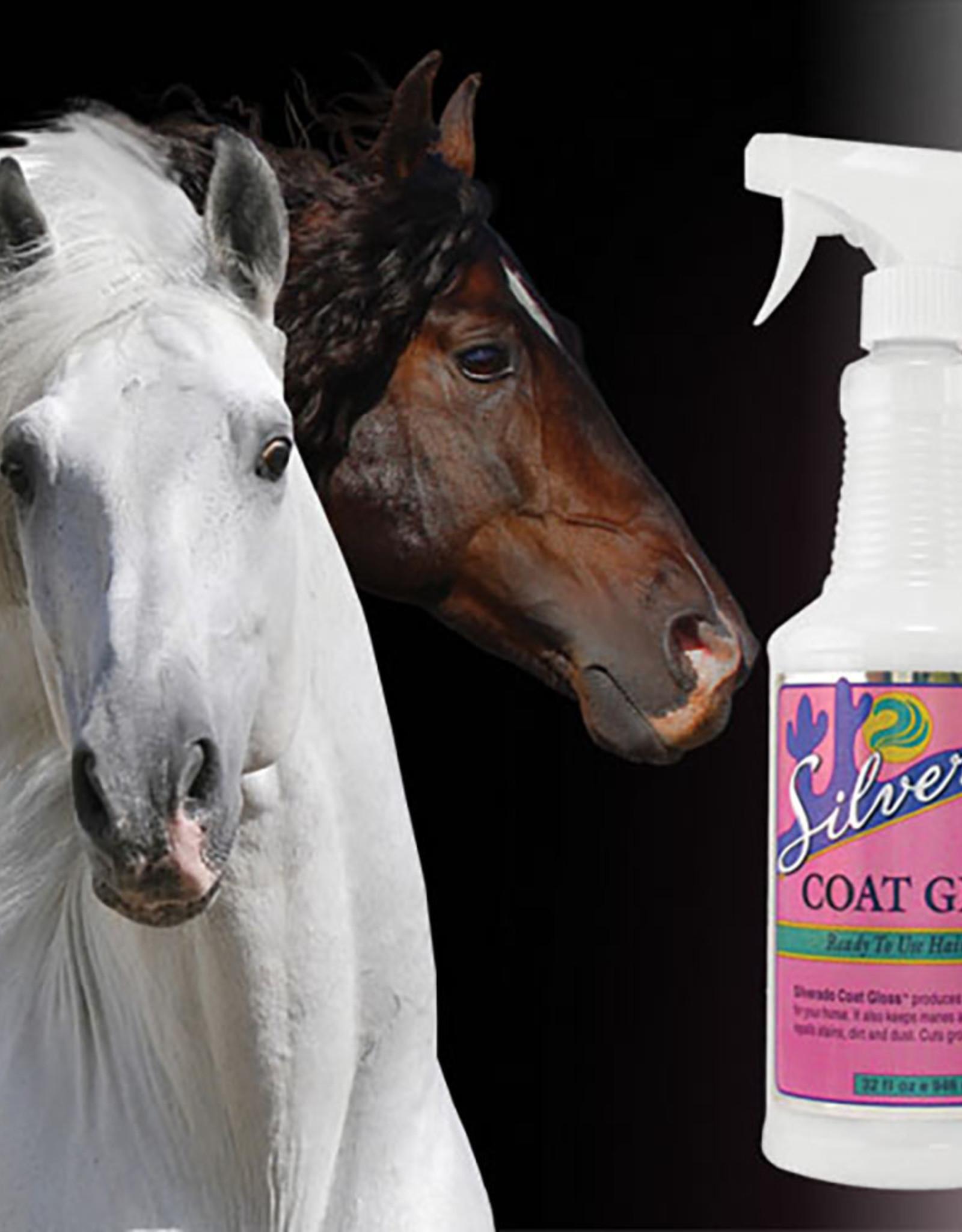 HEALTHY HAIR CARE SILVERADO COAT GLOSS 32 OZ