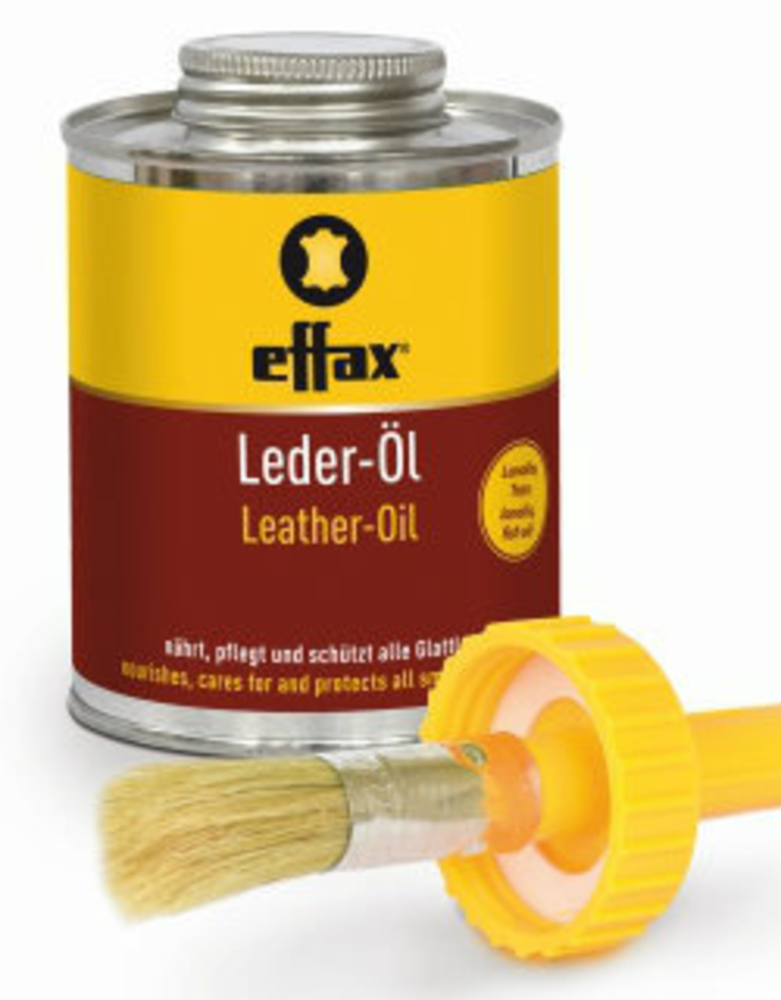 EFFAX LEATHER OIL / BRUSH 475ML