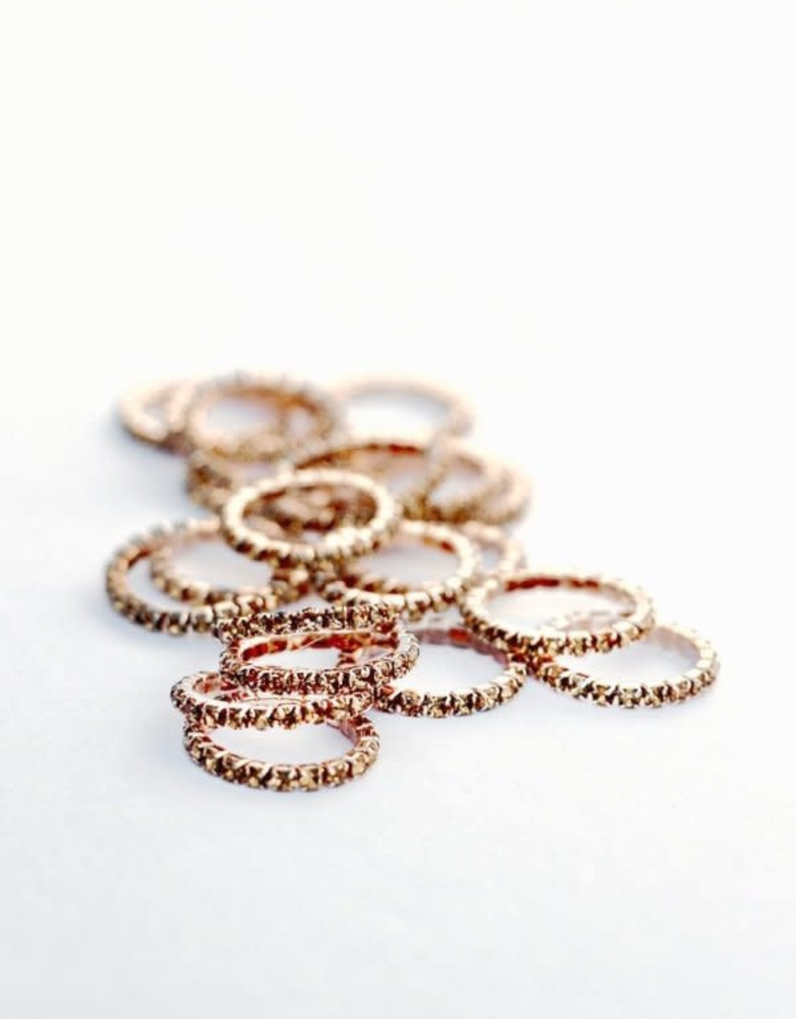 SPICED XS BRAID BLING - ROSE GOLD