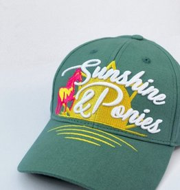 SPICED SUNSHINE & PONIES RINGSIDE HAT