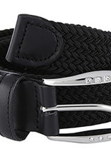 STRETCH WEB BELT WITH BLING BUCKLE