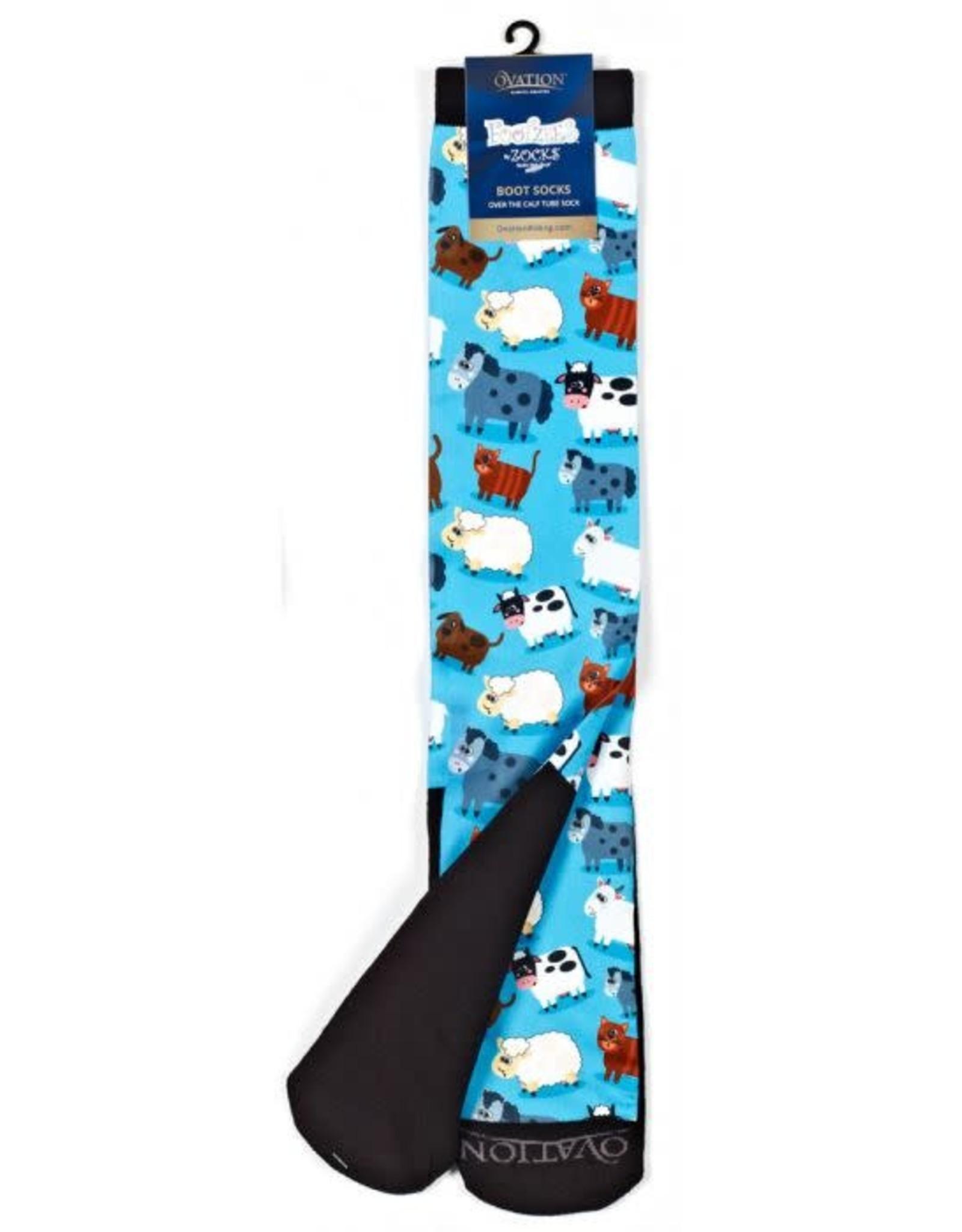 OVATION FootZees™ Boot Sock SIZE 7-10