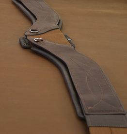 TOTAL SADDLE FIT StretchTec Shoulder Relief Girth™ – Jump (Leather)