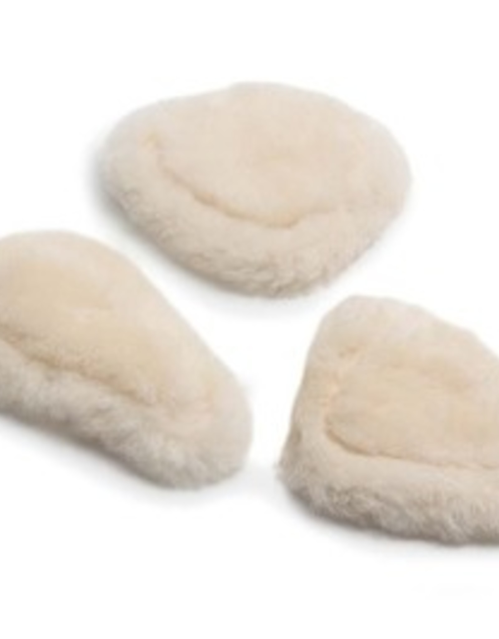 SHIRES SHEEPSKIN PADS FOR FIVE POINT BREASTPLATE