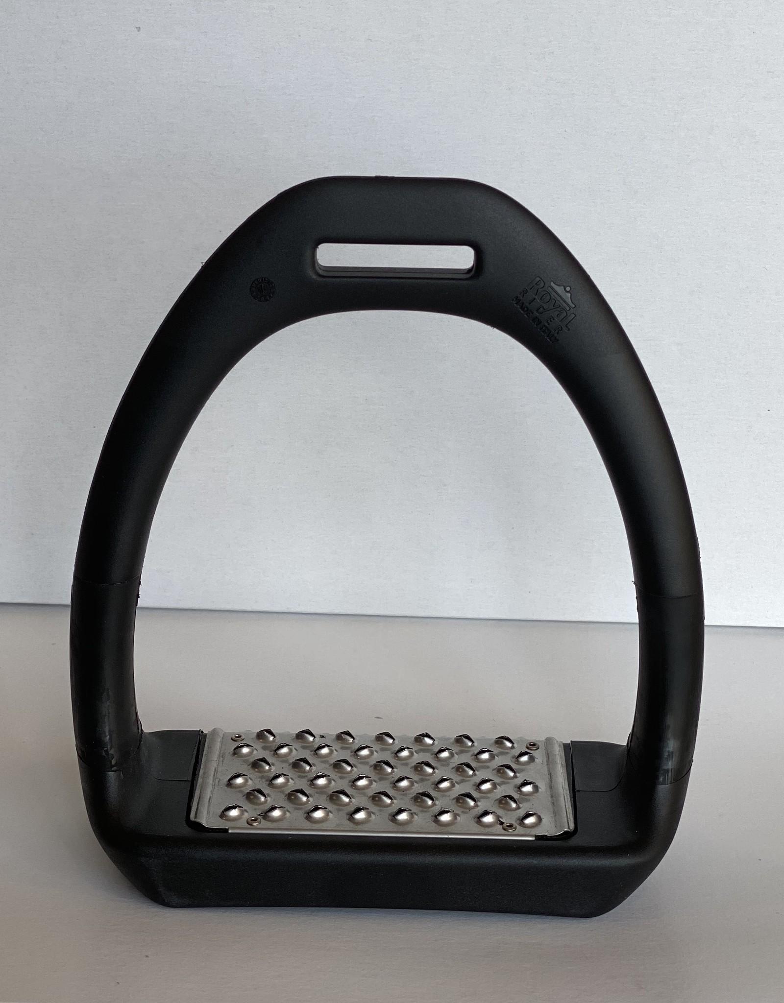 ROYAL RIDER SPORT FLEX STIRRUPS - BLACK/BLACK