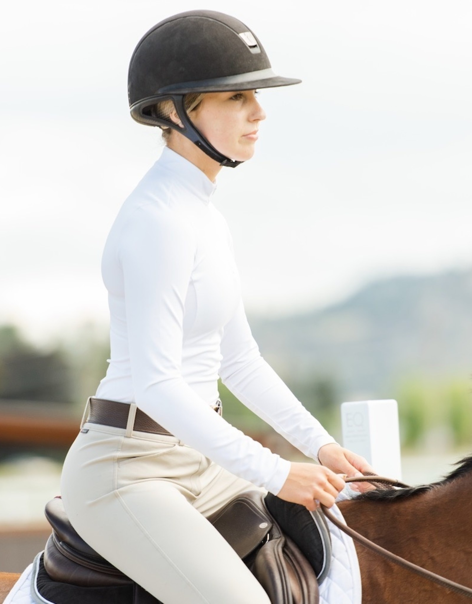 TKEQ QUINN ESSENTIAL COMPETITION TOP - LONG SLEEVE