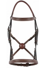 HDR  SQUARE RAISED FANCY STITCHED BRIDLE