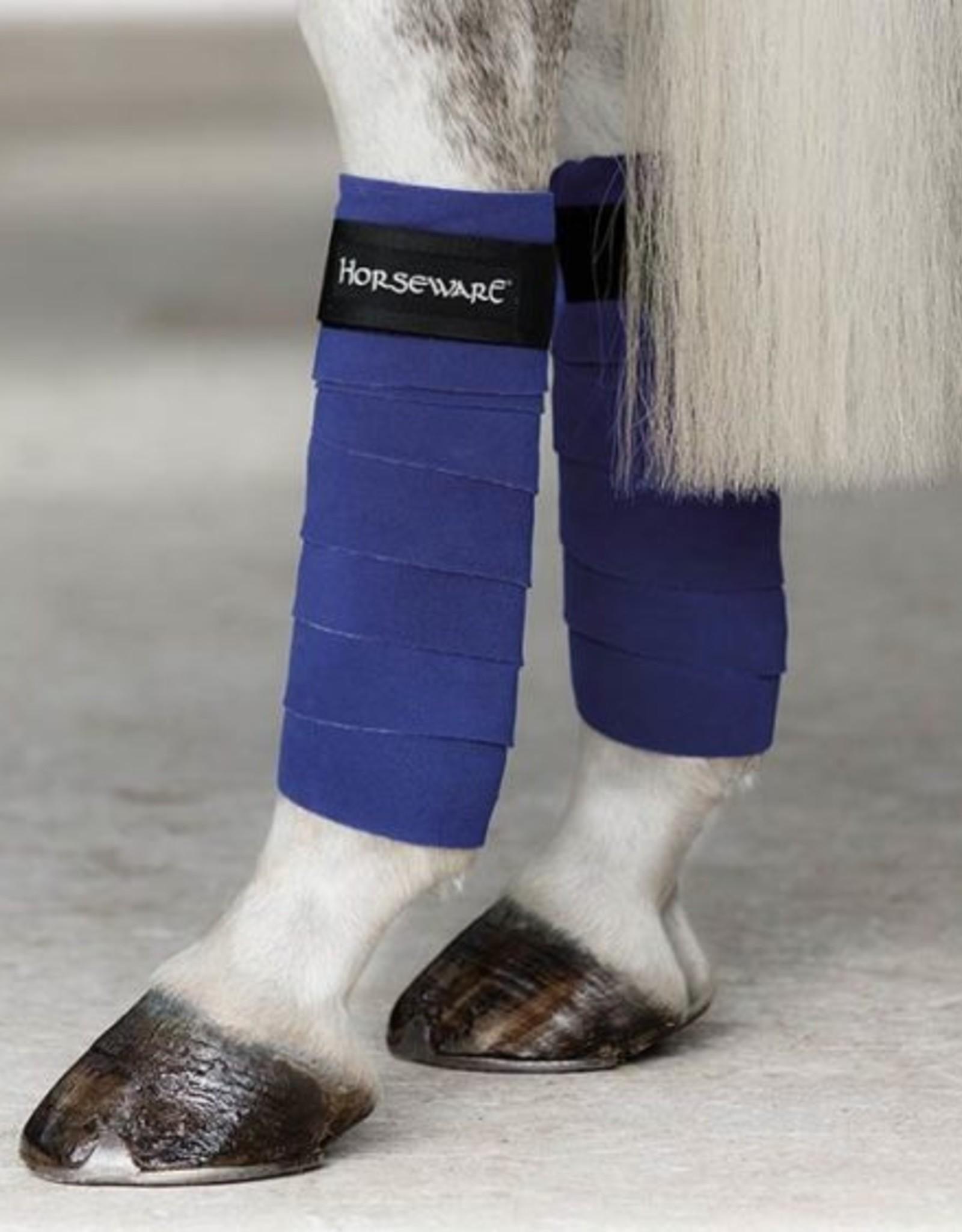 HORSEWARE IRELAND FASHION FLEECE BANDAGES 4PK